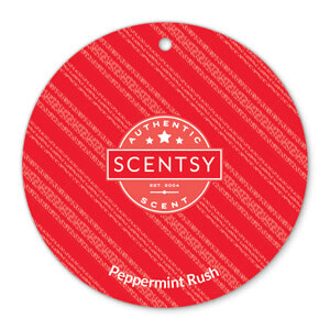 Peppermint Rush Scentsy Scent Circle