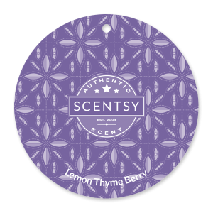 Lemon Thyme Berry Scentsy Scent Circle