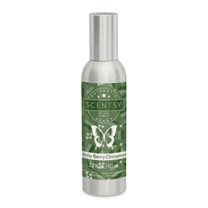 Holly Berry Cinnamon Scentsy Room Spray