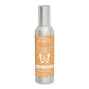 Caramel Vanilla Delight Scentsy Room Spray