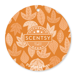 Painted Leaves Scentsy Scent Circle