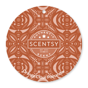 Orange Clove Pomander Scentsy Scent Circle