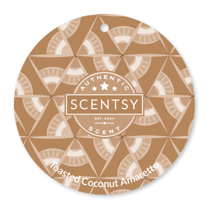 Toasted Coconut Amaretto Scentsy Scent Circle