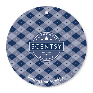 Homestead Holiday Scentsy Scent Circle