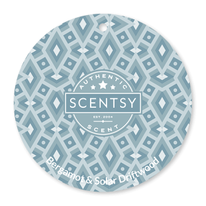 Bergamot and Solar Driftwood Scentsy Scent Circle