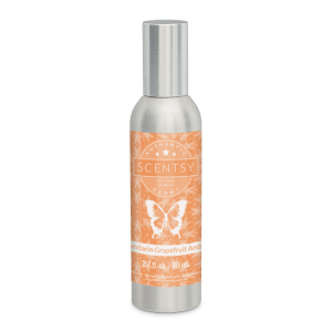 Mandarin Grapefruit Amber Scentsy Room Spray