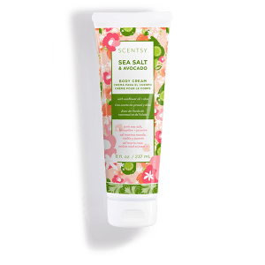 Sea Salt and Avocado Scentsy Body Cream