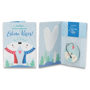 Eskimo Kiss Scentsy Holiday Greeting Cards