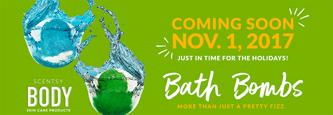 New Scentsy Bath Bombs