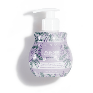 Lavender and White Balsam Scentsy Lotion