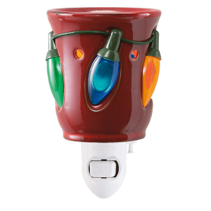 Holiday Lights Scentsy Mini Warmer