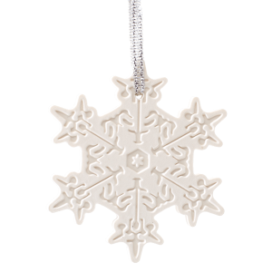 Very Snowy Spruce Scentsy Porcelain Ornament