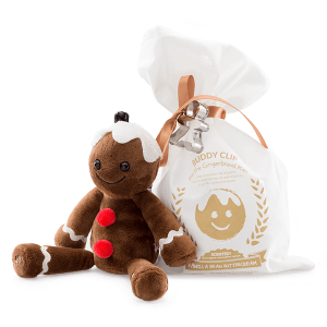 Gingerbread Man Scentsy Buddy Clip