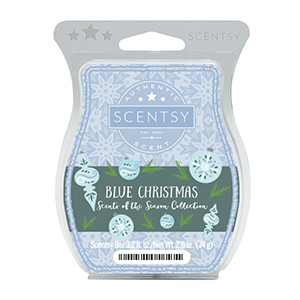 Blue Christmas Scentsy Bar