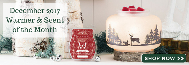 December 2017 Scentsy Warmer of the Month
