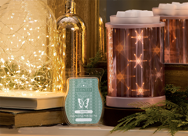 January 2018 Scentsy Warmer Of The Month Star Dance