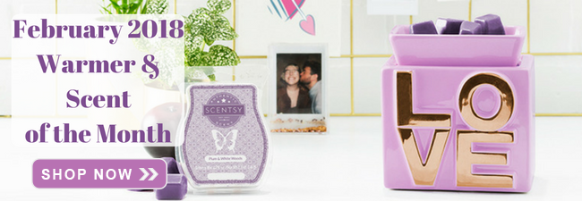 February Warmer & Scent of the Month