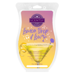 Lemon Drop it Low Scentsy Brick