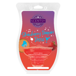 Strawberry Daquiri Disco Scentsy Brick
