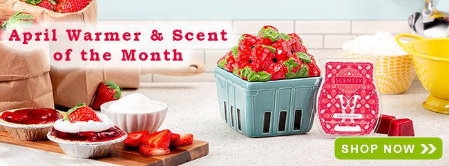 April 2019 Scentsy Warmer of the Month