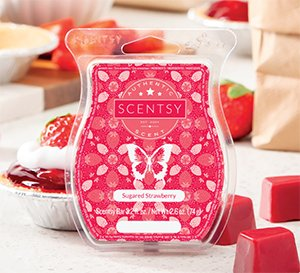 Sugared Strawberry Scentsy