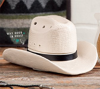 Country Born Cowboy Hat Scentsy Warmer