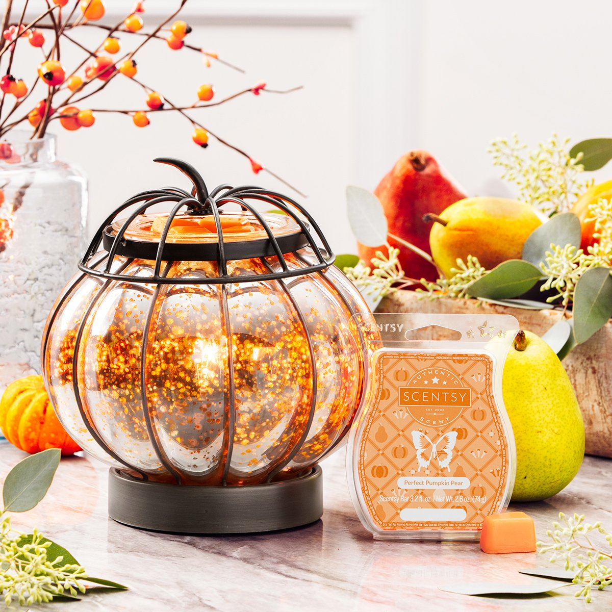 October 2019 Scentsy Warmer Of The Month Enchanted Pumpkin Scentsy