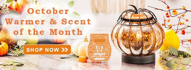 October 2019 Scentsy Warmer of the Month