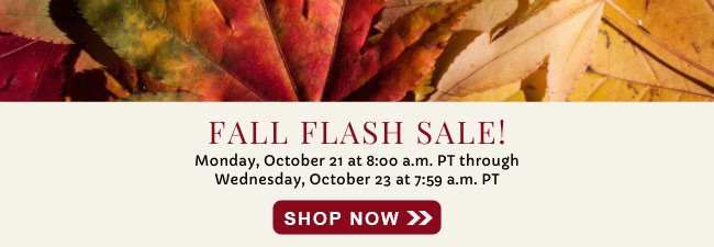 Scentsy Fall Flash Sale