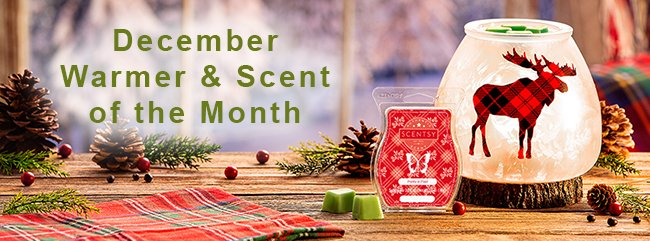 December 2019 Scentsy Warmer of the Month