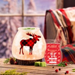 Northern Plaid Scentsy Warmer