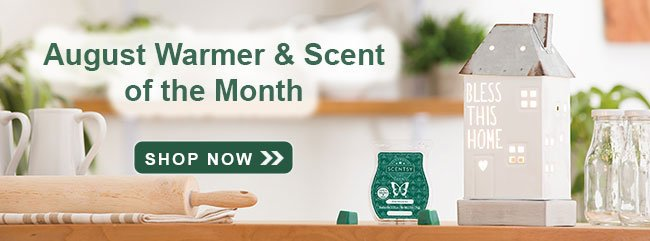 August 2020 Scentsy Warmer of the Month